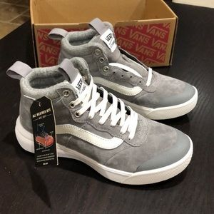 Vans UltraRange Hi MTE Wool Frost Gray